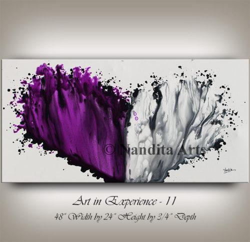 Purple, Purple modern art