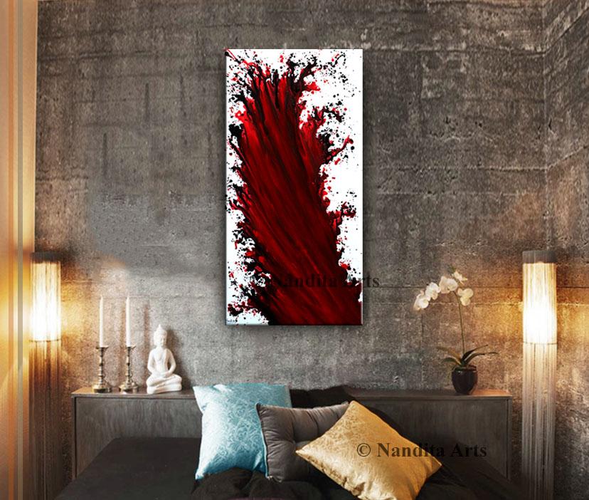 Eternal Flame Modern Art
