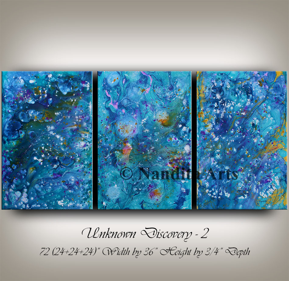 Blue, Blue Wall Art, Blue wall decor