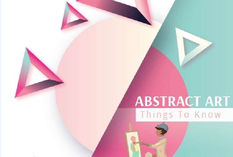 abstract art infographic