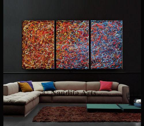 Jackson Pollack Modern Art by Nandita Albright