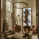 Jackson Pollack Style Artwork by Nandita Albright