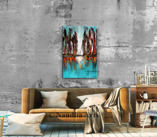 Cityscape, Skyline Wall Art by Nandita Albright