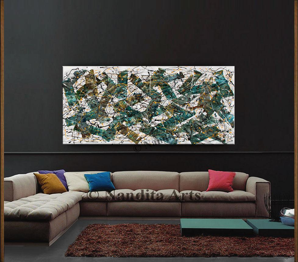 Jackson Pollock Style Artwork