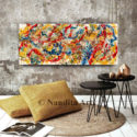Jackson Pollack Wall art by Nandita Albright